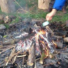 Onze ballast loslaten in het vuur