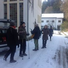 Op weg naar de Hochheide Hütte
