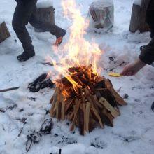 Ballast loslaten in het vuur