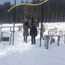 Hochheide Niedersfeld in de winter