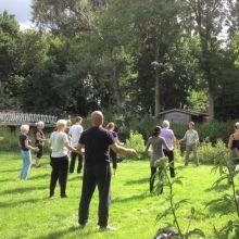 Qi Gong in het Beatrix park