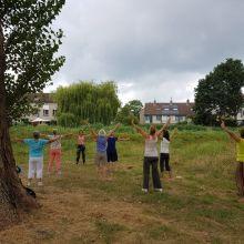Qi Gong in het Beatrixpark